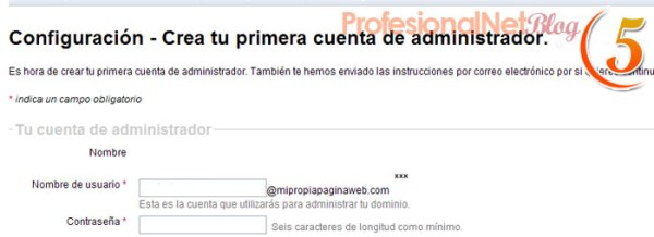 Google Sites - Quinto Paso