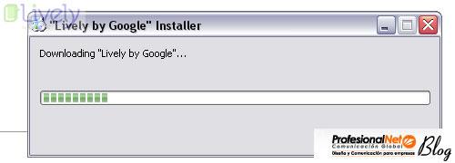 Instalar Google Lively - quinto paso.