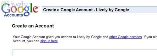 Instalar Google Lively - séptimo paso.