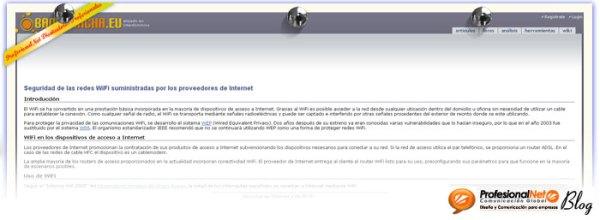 Web de Bandaancha.eu