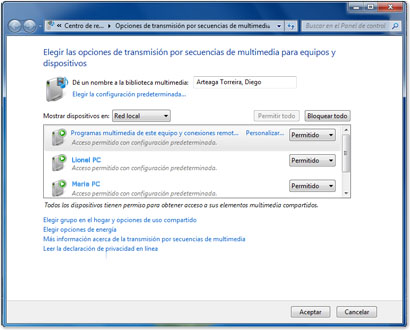Windows 7 Remote Media Streaming